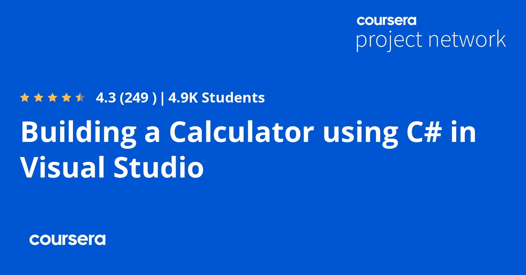 Building a Calculator using C# in Visual Studio