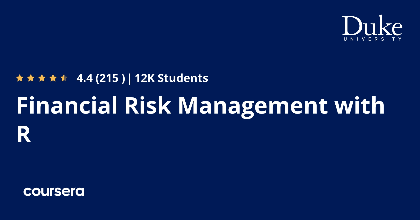 Financial Risk Management with R
