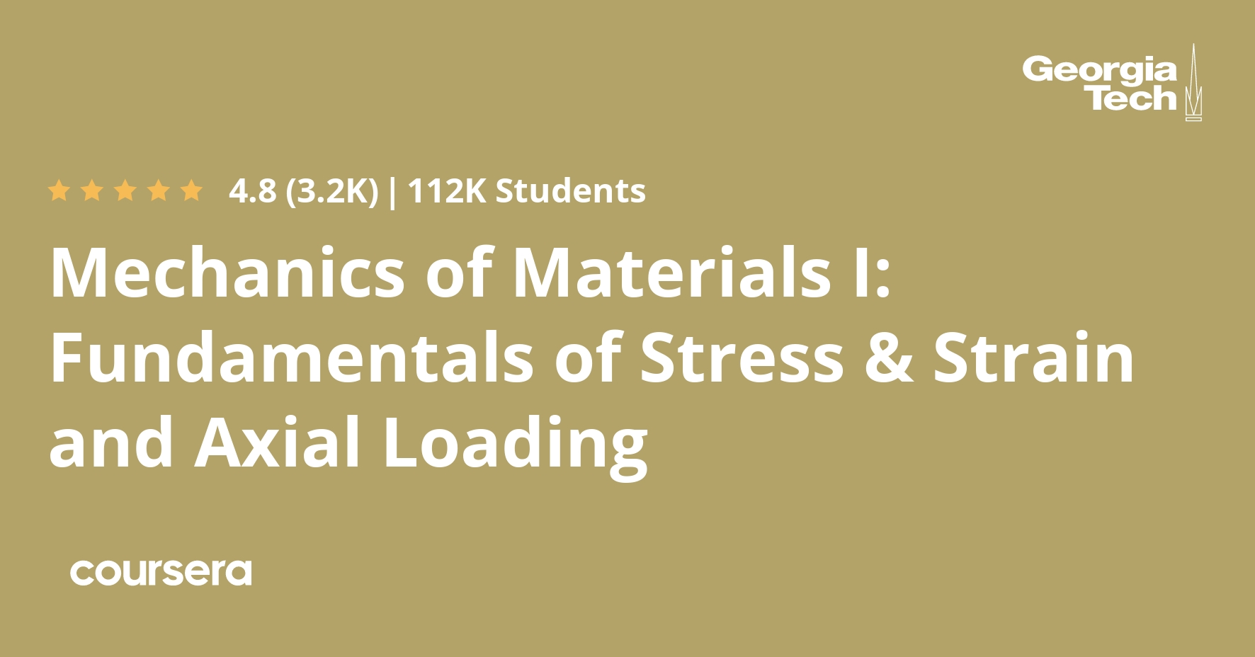 Mechanics Of Materials I Fundamentals Of Stress Strain And Axial Loading Coursera,Southern California Landscape Design