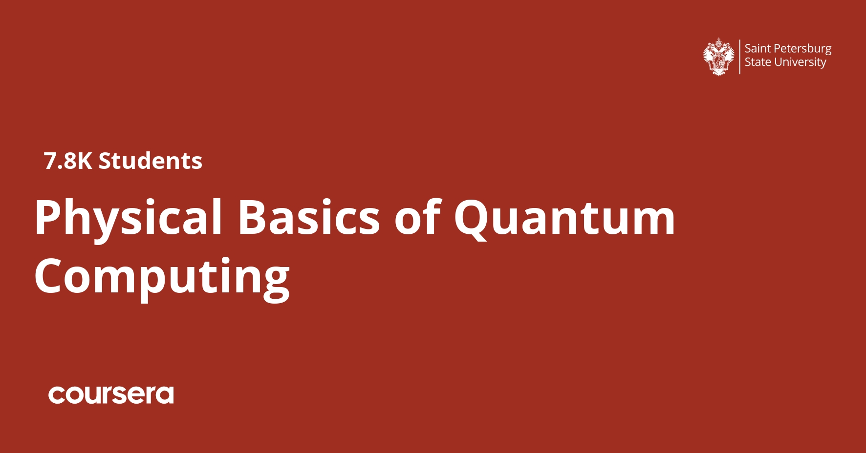 Physical Basics of Quantum Computing (Coursera)