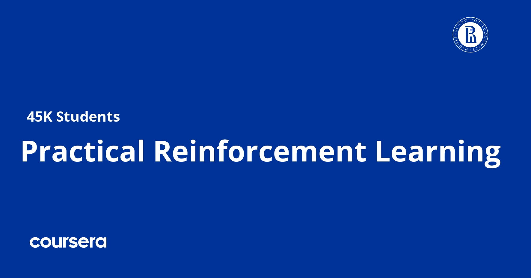 Practical Reinforcement Learning