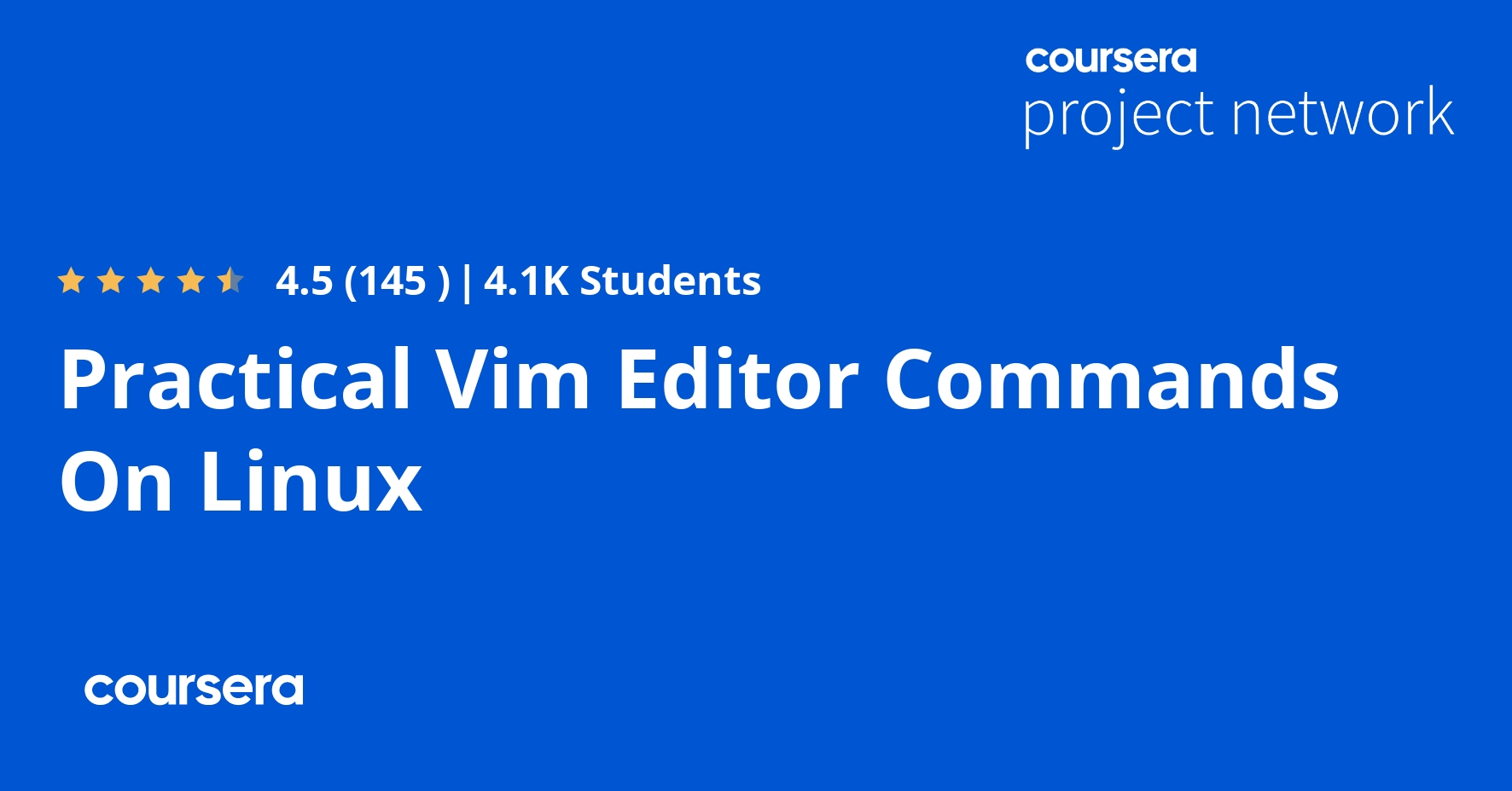 Practical Vim Editor Commands On Linux