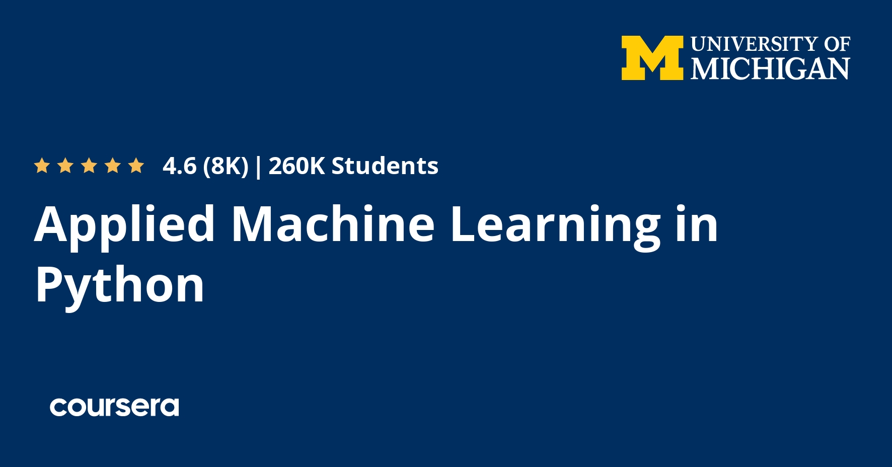 Applied Machine Learning In Python Coursera