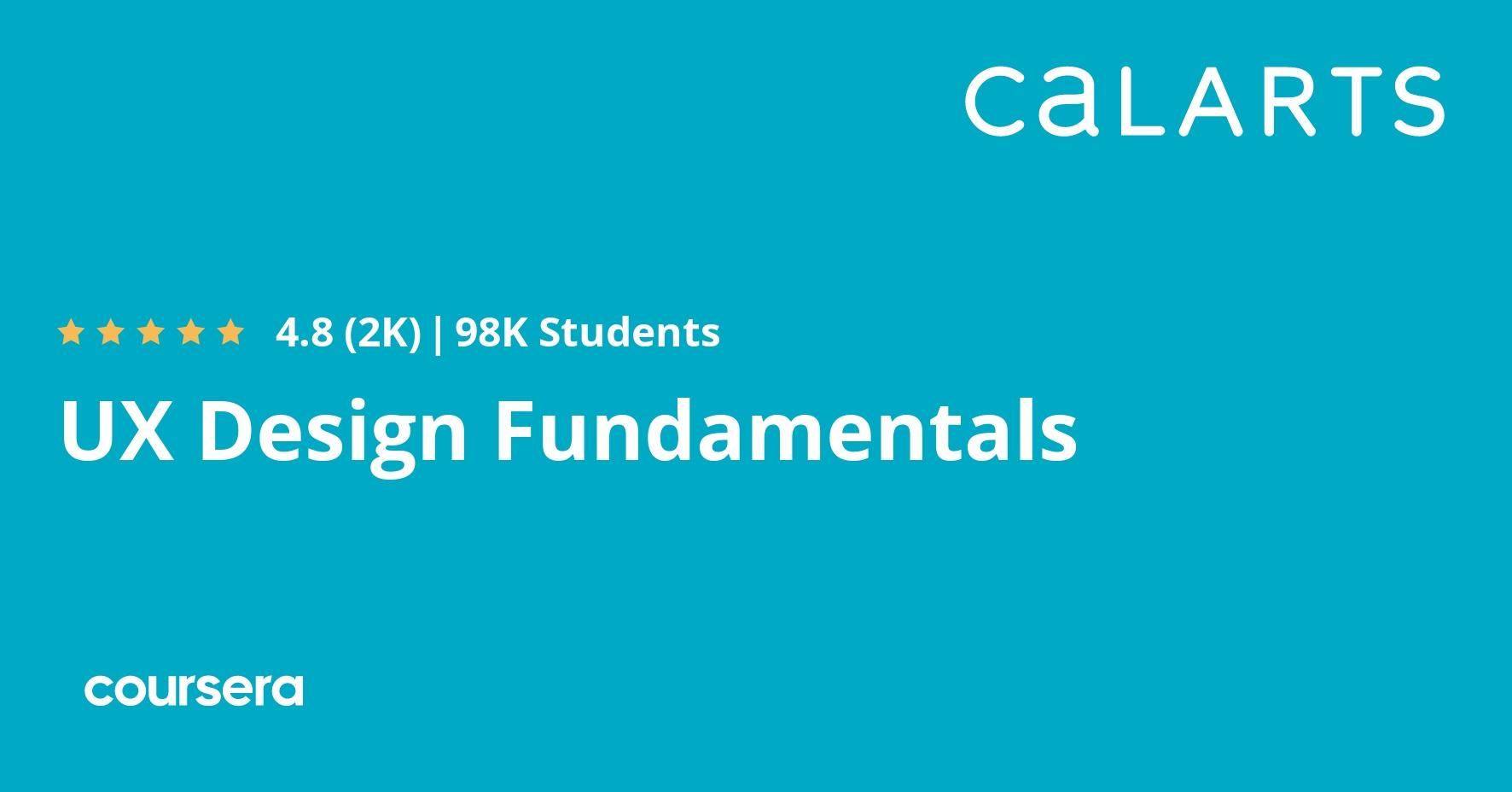 Ux Design Fundamentals Coursera