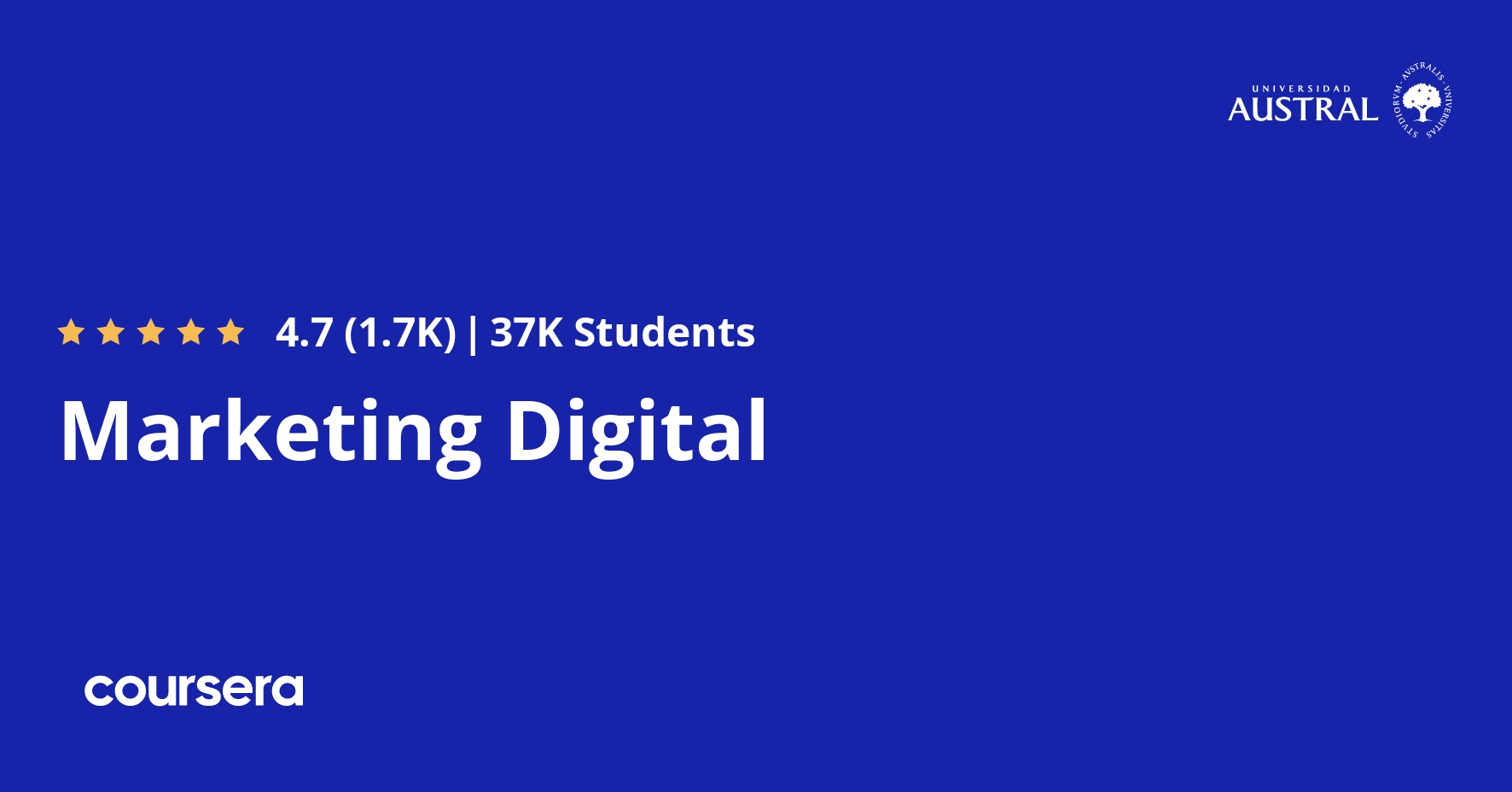 Marketing Digital Coursera