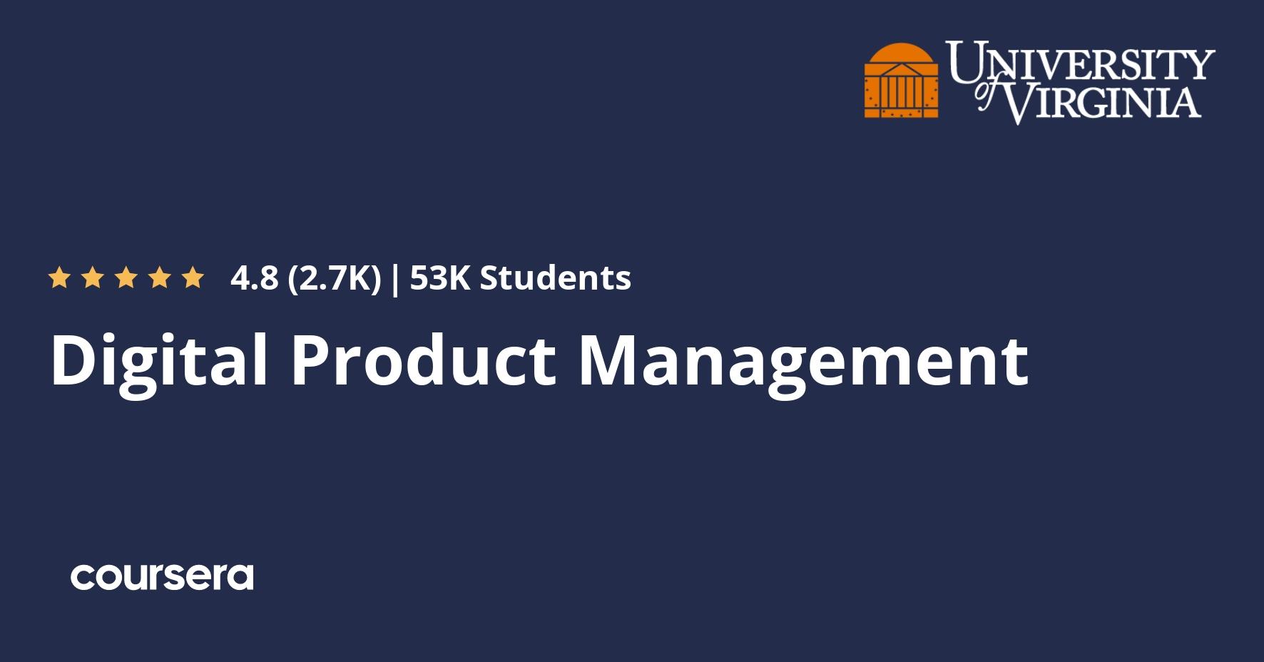 Digital Product Management   Coursera