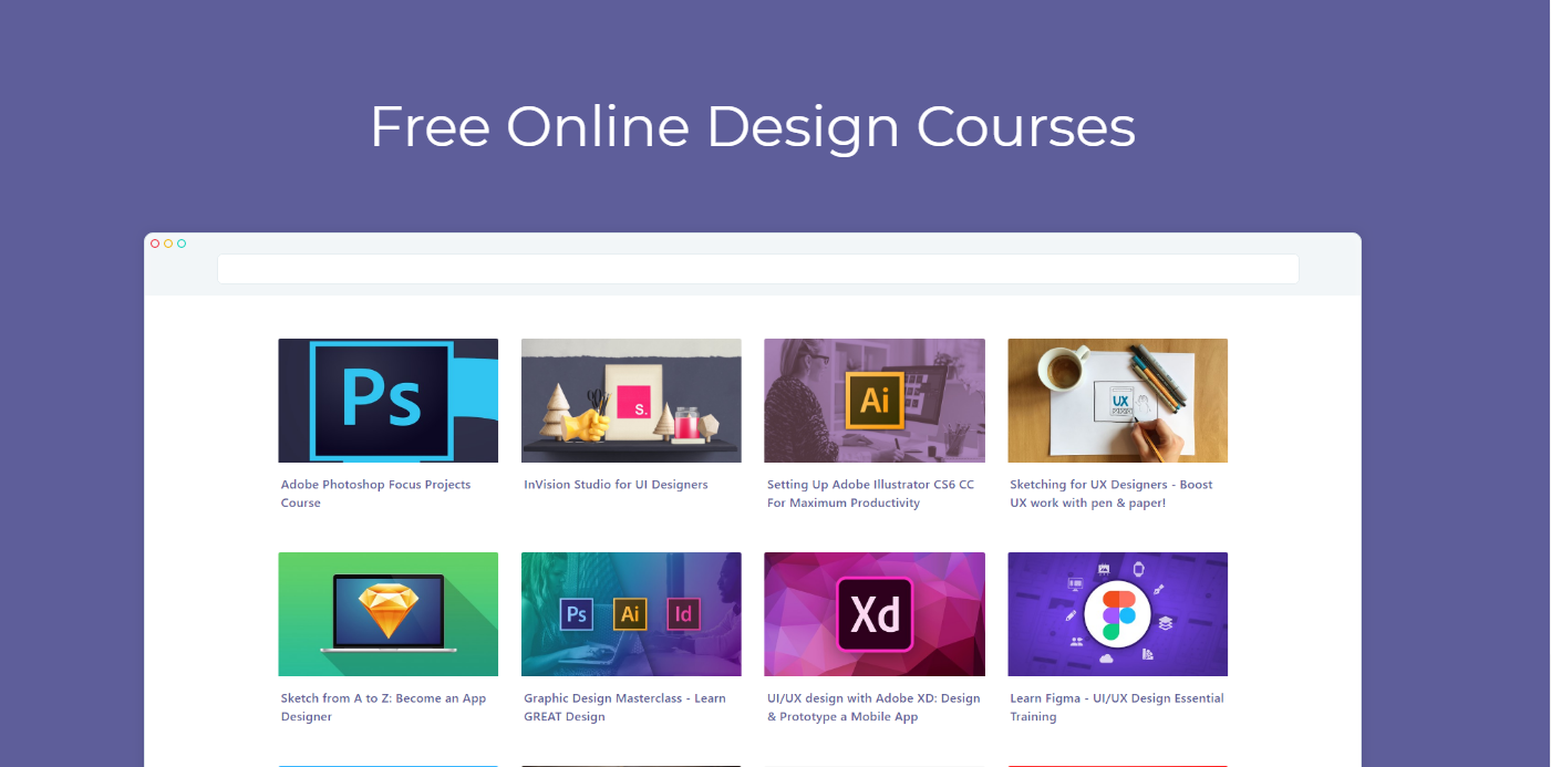 Discover Free Online Design Courses & Tutorials