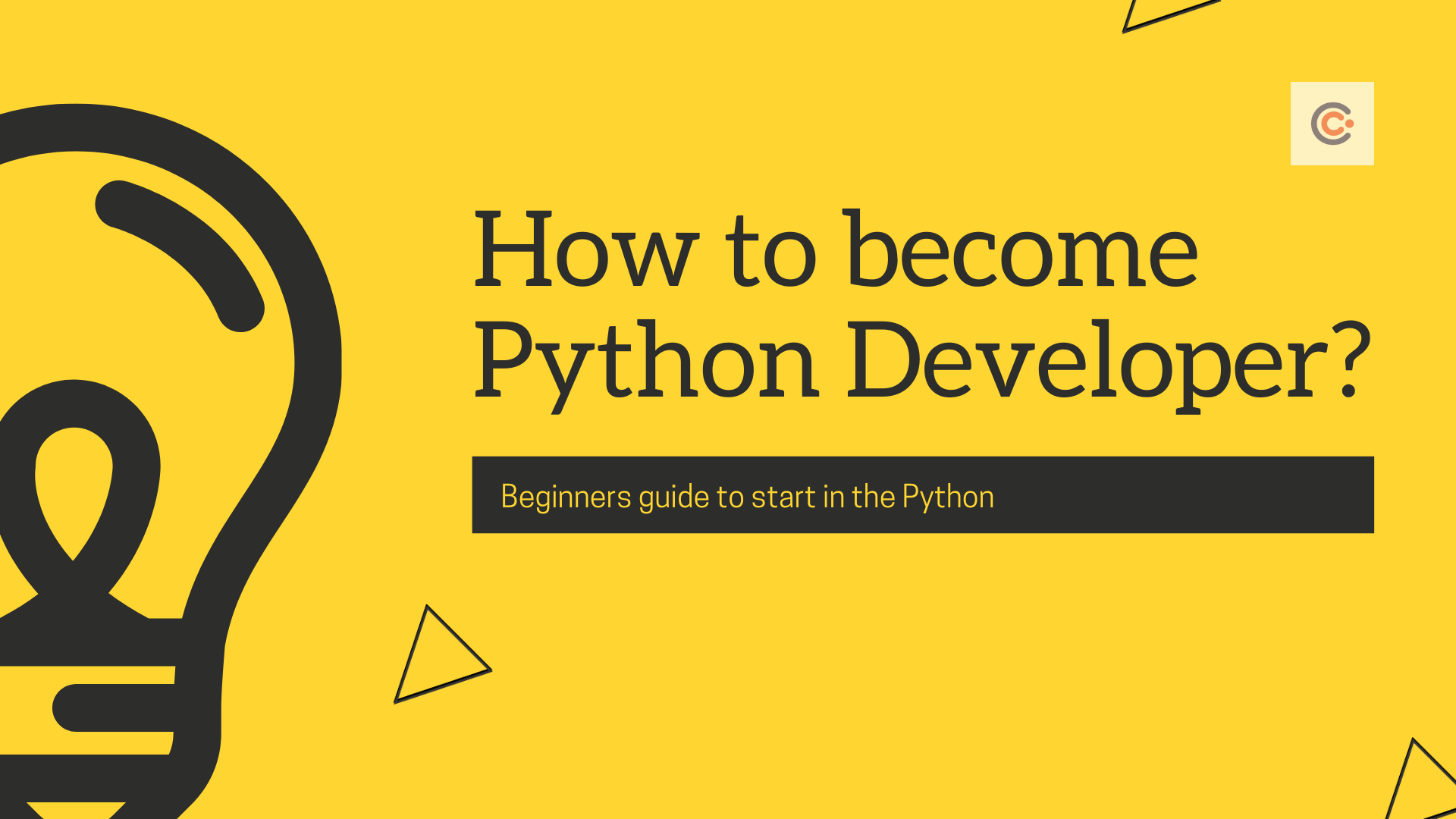 Learn Coding in Python - Learning Plan