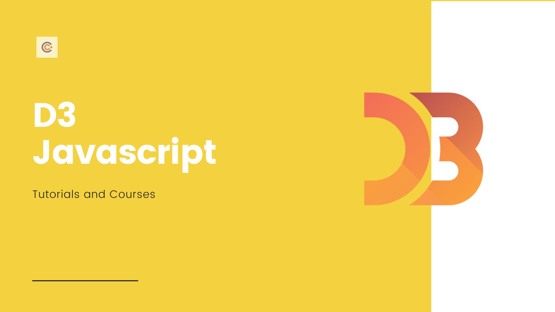 10 Best D3 JS Courses & Tutorials - Learn D3 JS Online