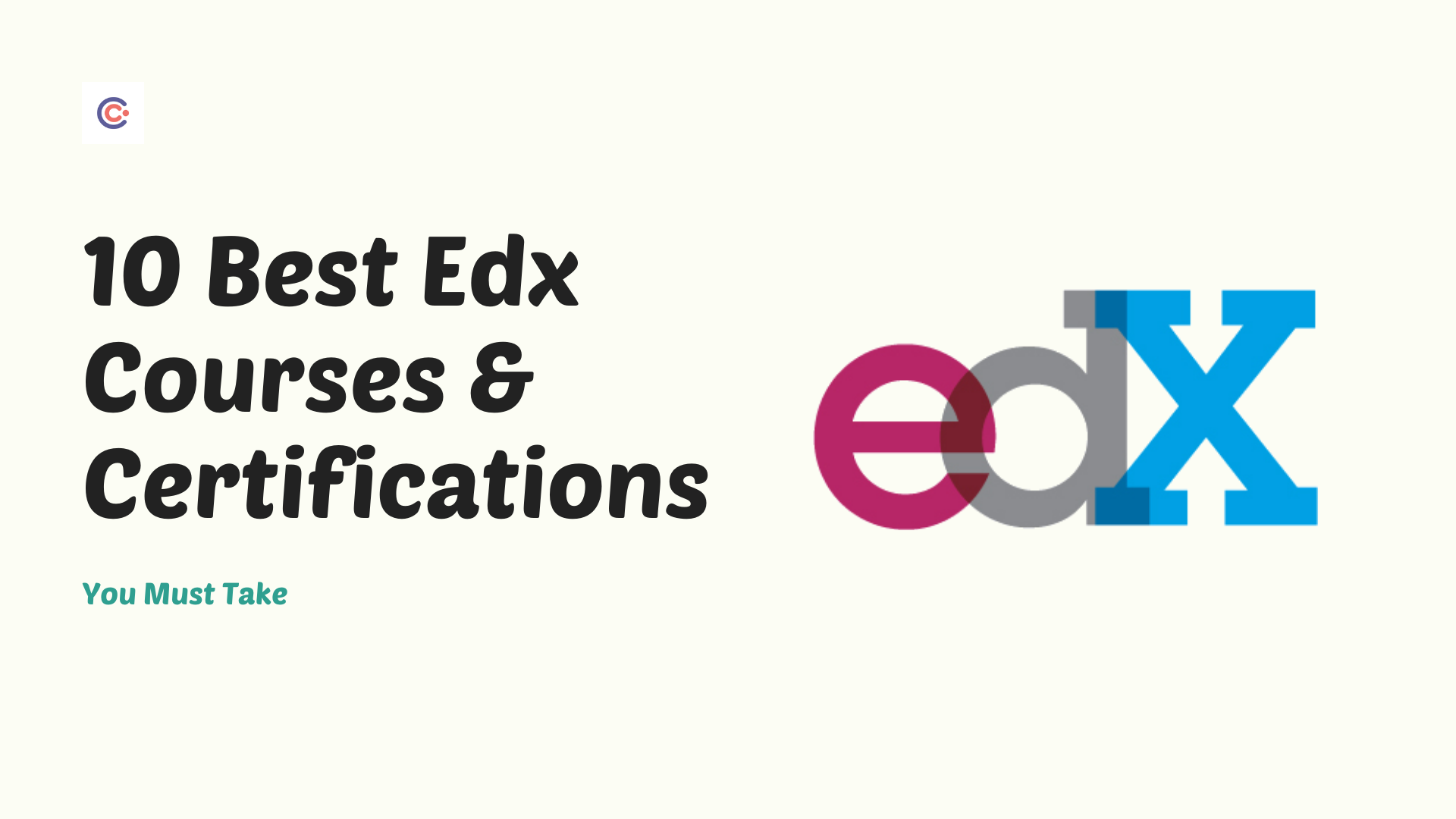 10 Best Edx Courses & Certifications You Must Take in 2021