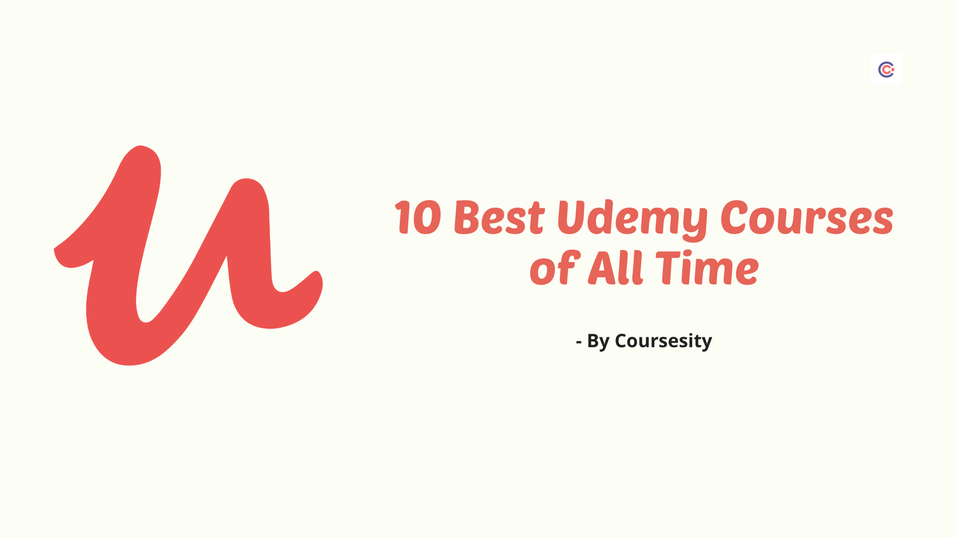 10 Best Udemy Courses of All Time in 2021