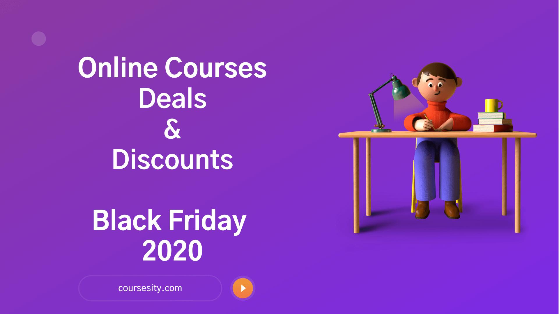 10 Online Courses Deals: Black Friday Discounts & Coupons 2020
