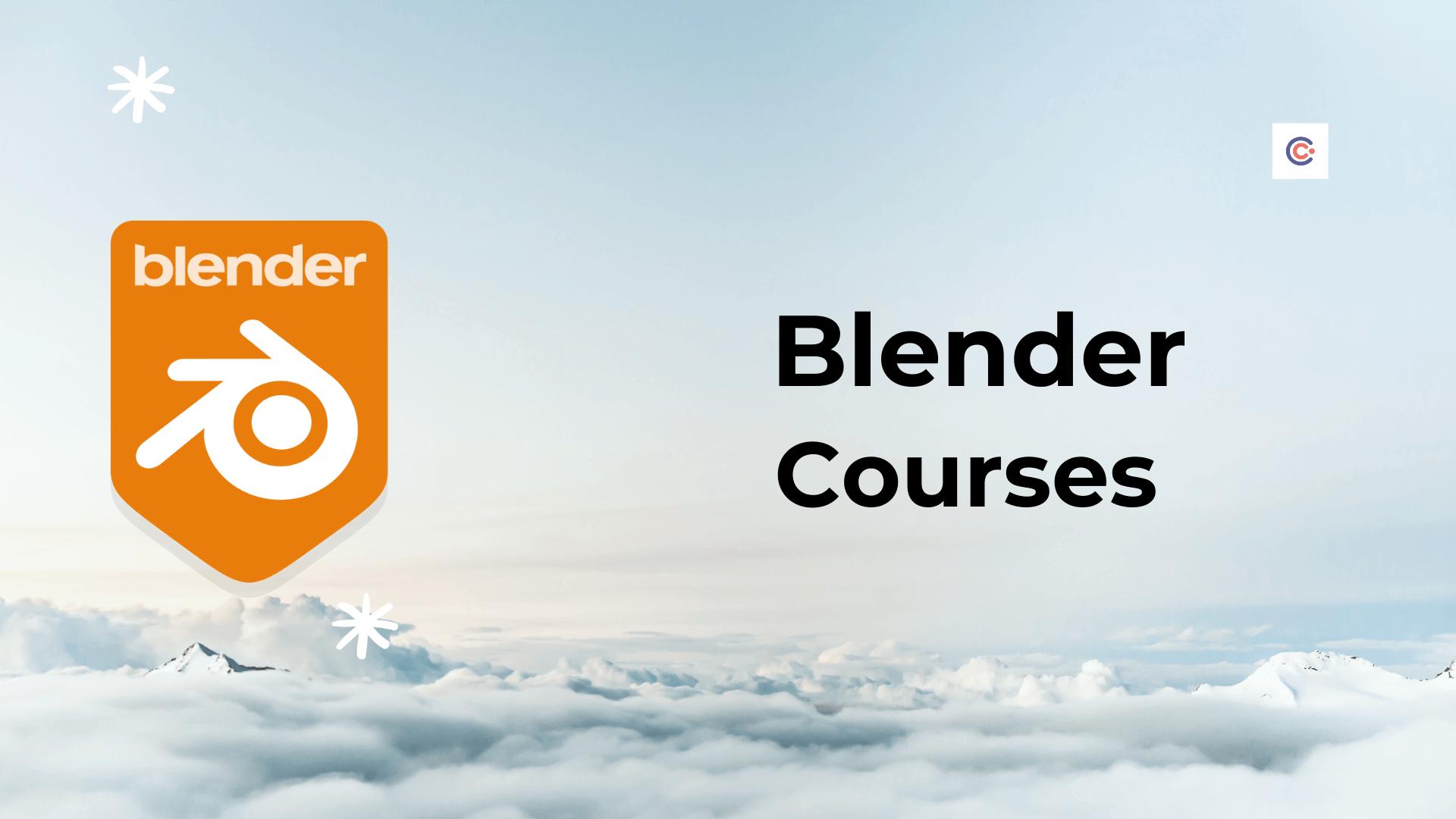 10 Best Blender 3D Tutorials & Courses - Learn Blender 3D Online
