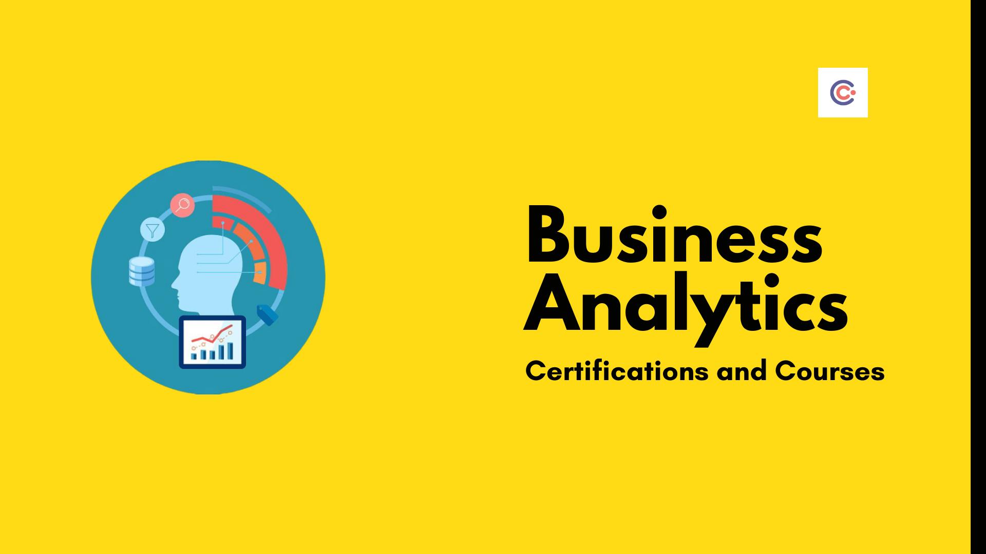 14 Best Business Analytics Certifications - 2021