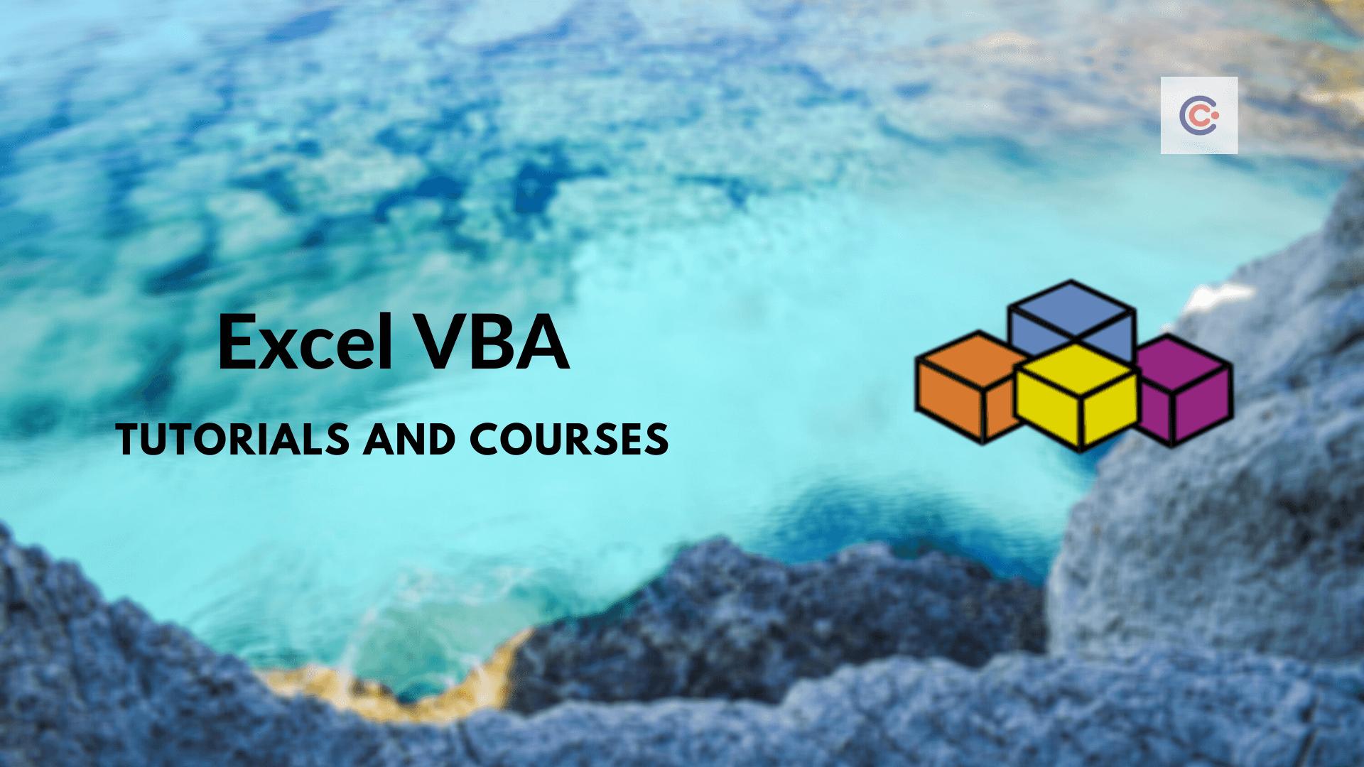 12 Best Excel VBA Tutorials & Courses - Learn Excel VBA Online