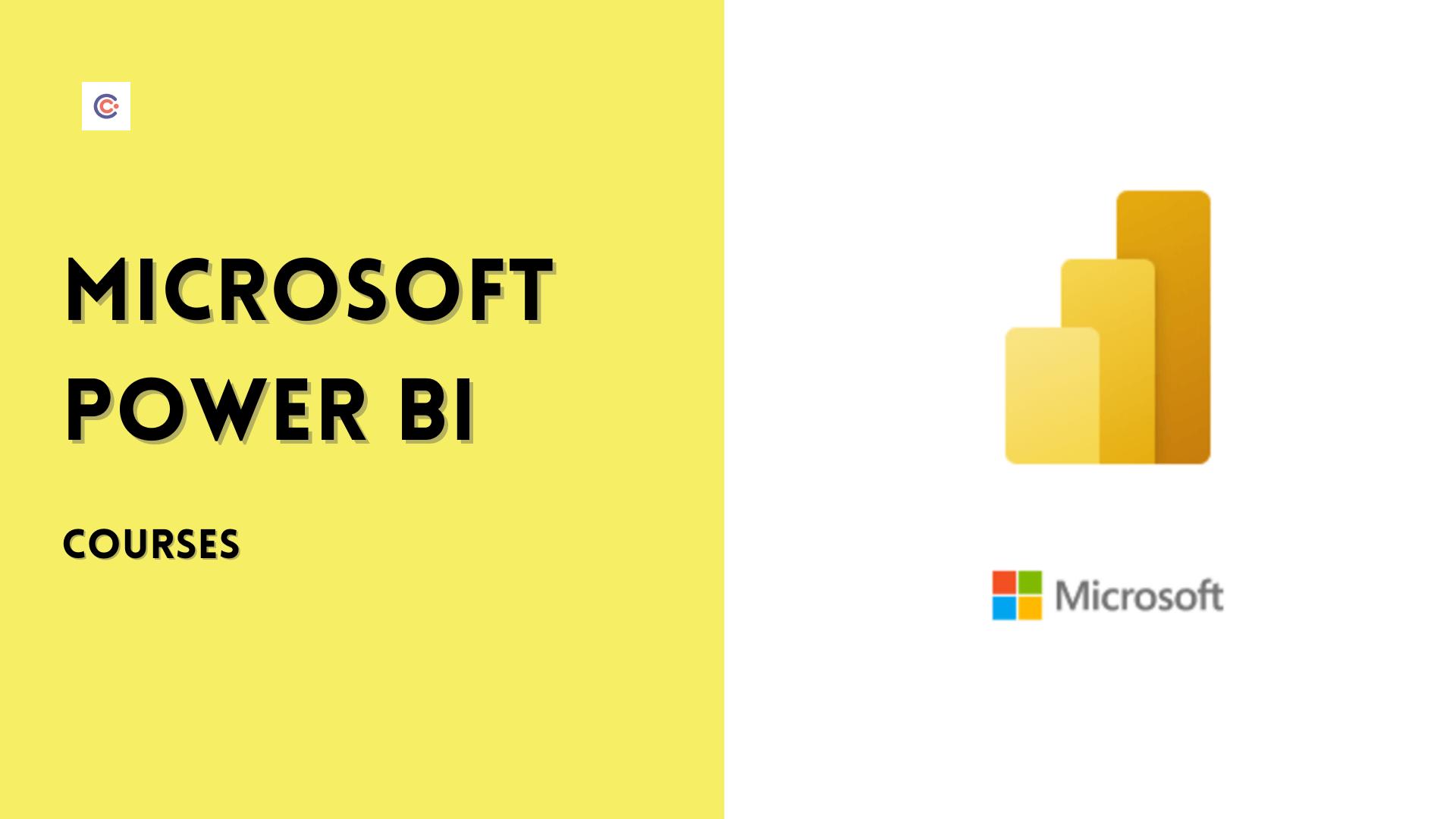 8 Best Microsoft Power BI Courses - Learn Power BI Online