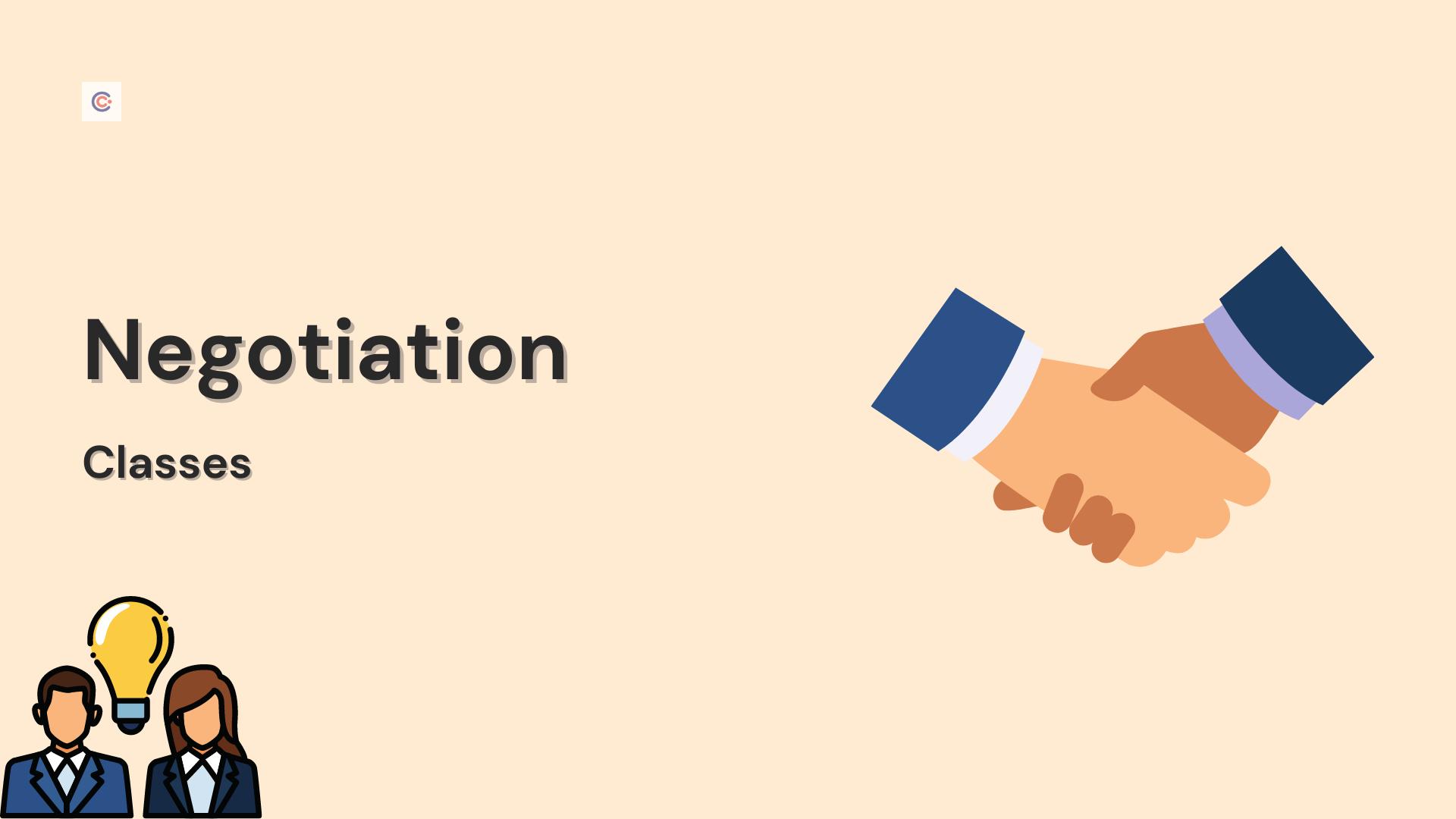 10 Best Negotiation Classes - Learn Negotiation Online