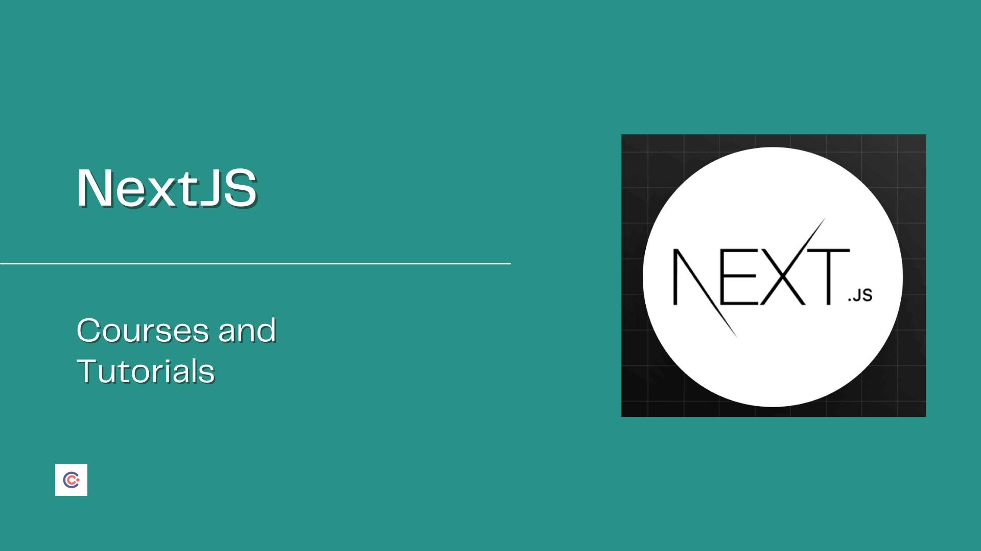 5 Best NextJS Courses and Tutorials - Learn NextJS Online