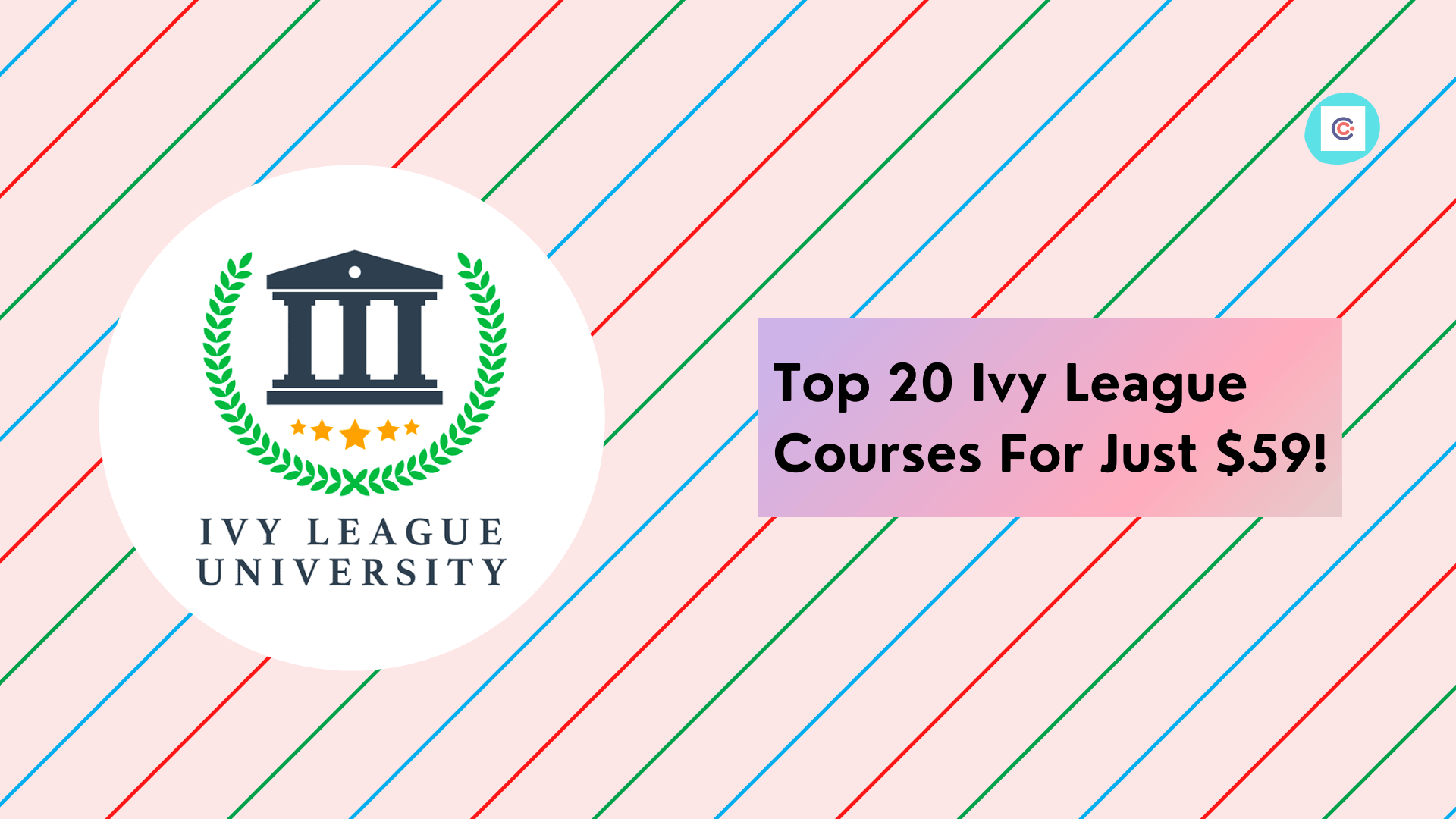 Top 20 Ivy League Courses For Just $59!