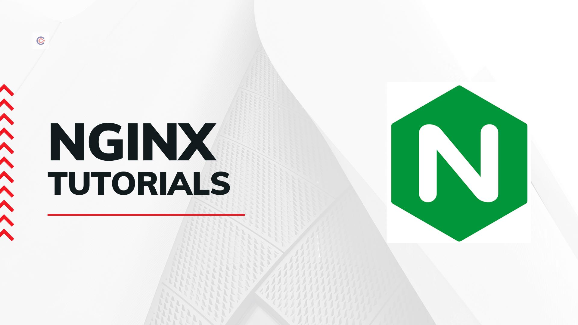 10 Best NGINX Tutorials - Take NGINX Certification Online