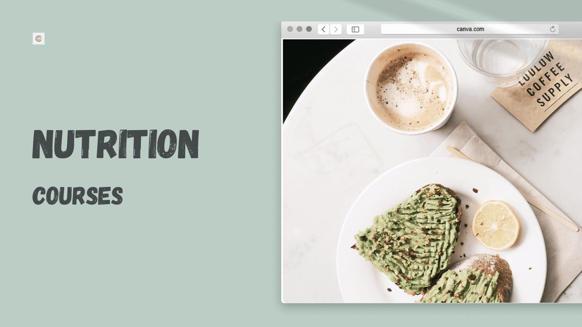 9 Best Nutrition Courses - Learn Nutrition Online