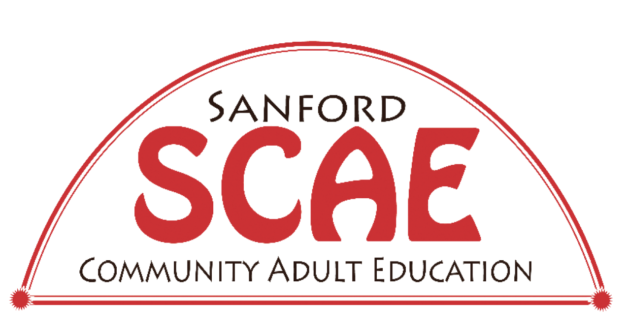 Sanford Community Adult Education logo