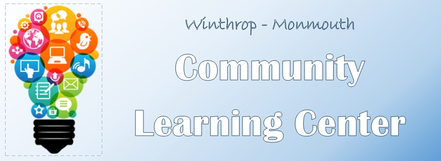 Winthrop/Monmouth Adult & Community Education logo