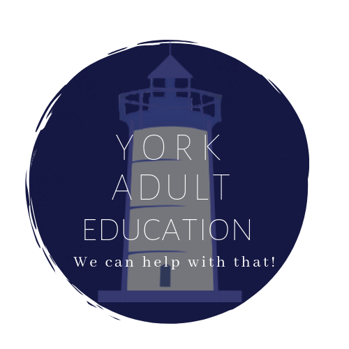 York Adult & Community Education logo