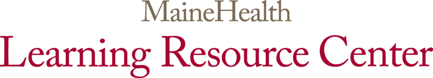 MaineHealth Learning Resource Center logo