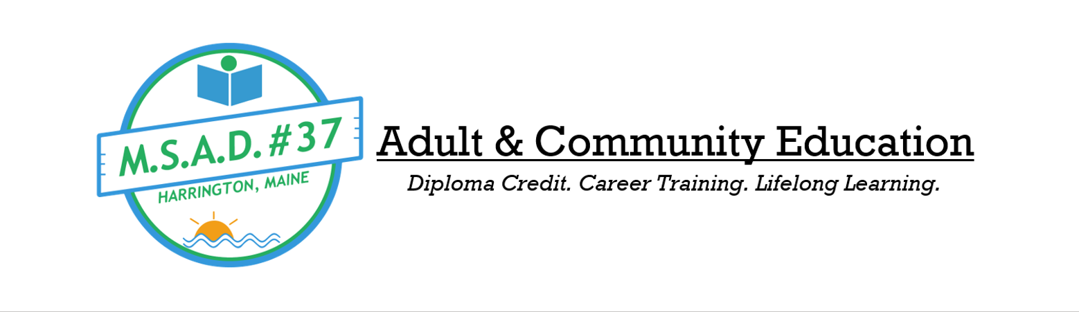 MSAD #37 Adult & Community Education logo