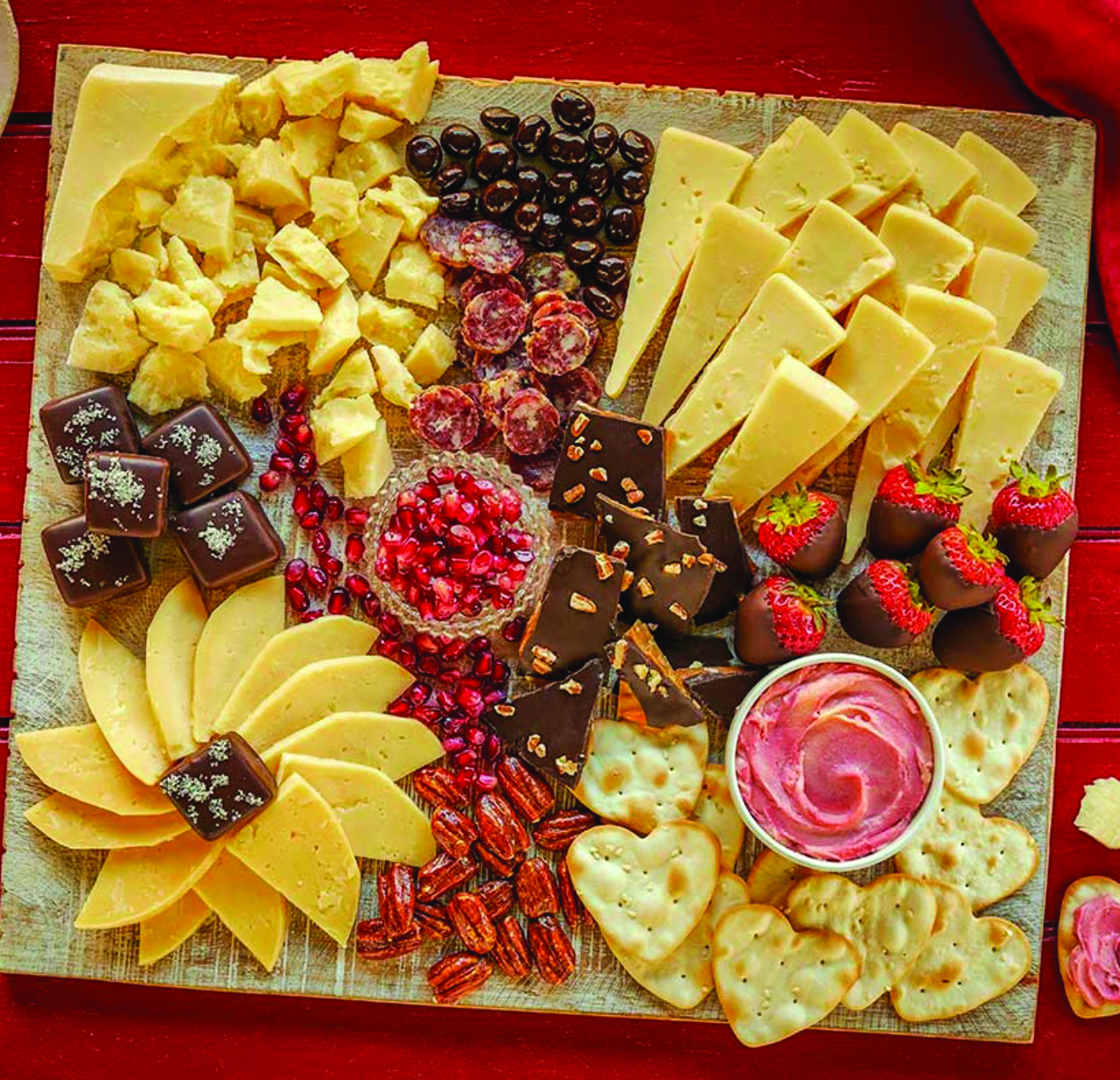 Christmas Themed Food.Cheese Boards For Holiday Entertaining Christmas Themed Maine Adult Education