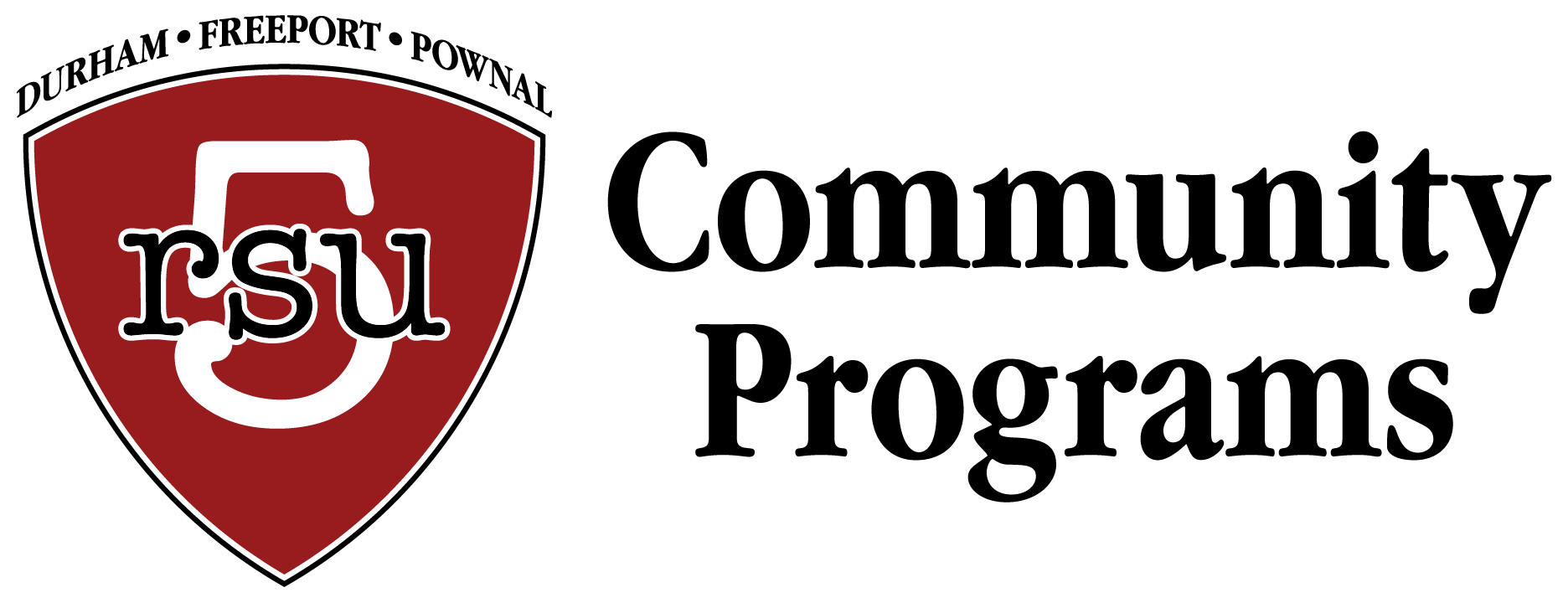 RSU5 Community Programs logo