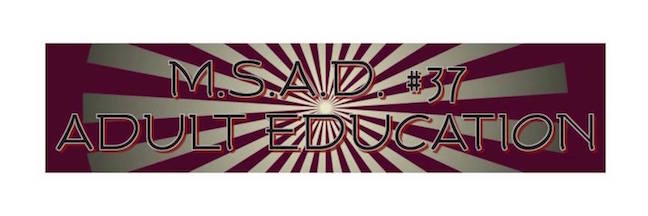 MSAD #37 Adult Education logo