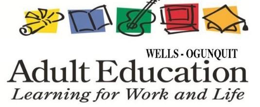 Wells-Ogunquit Adult Community Education logo