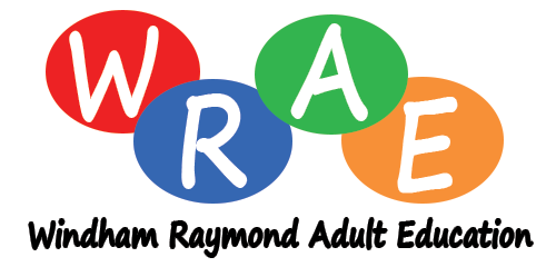 Windham/Raymond Adult Education logo