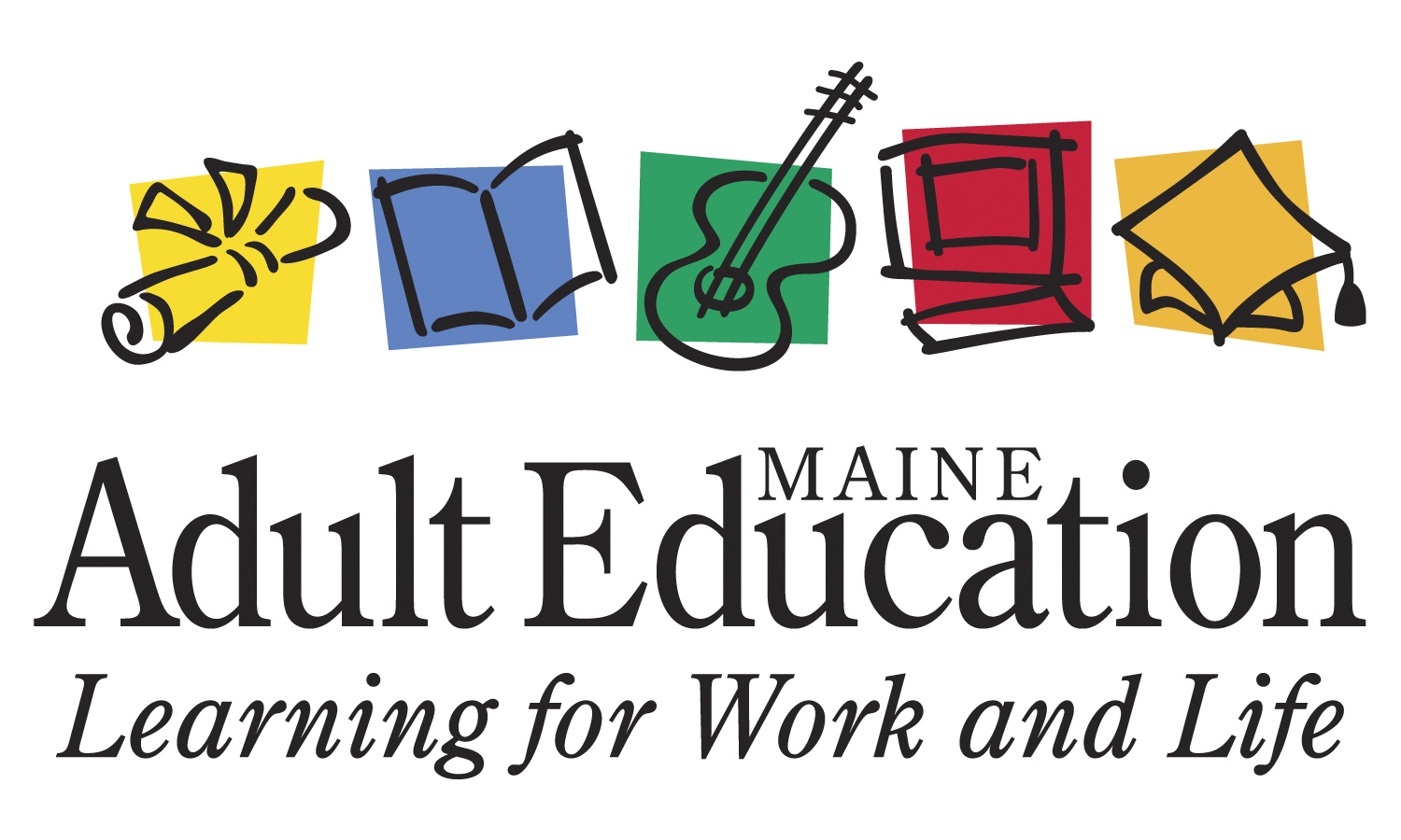 Adult Education of the Kennebunks and Arundel logo