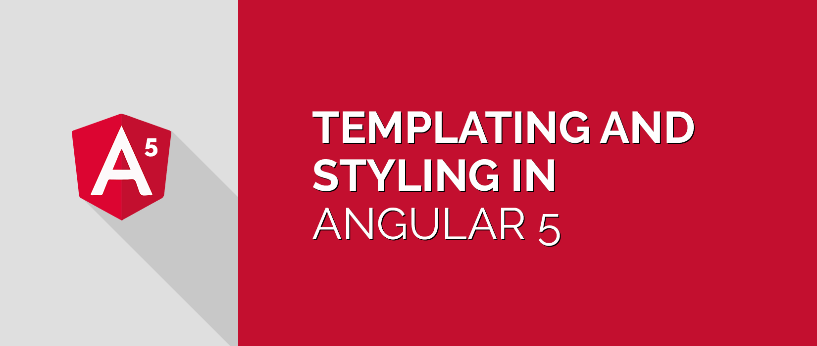 Angular 5 Template & Styling Tutorial