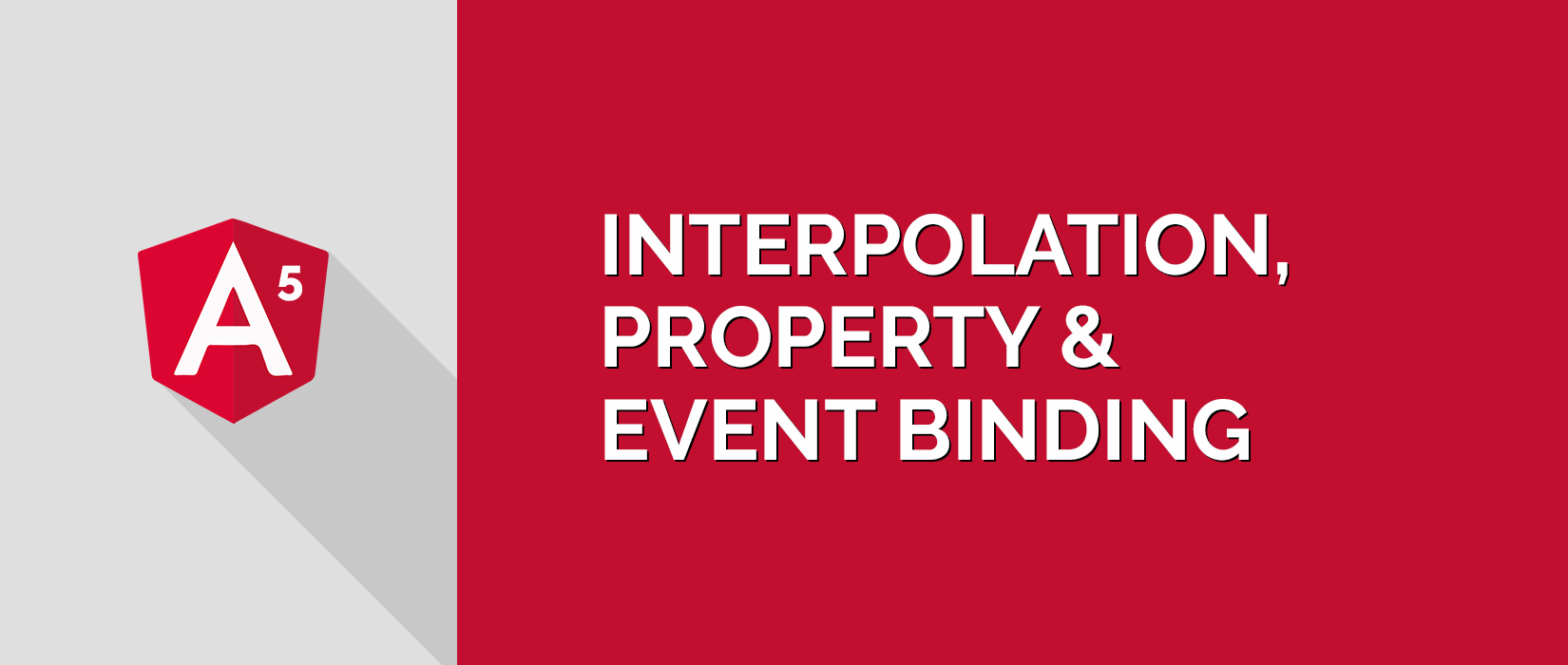 Angular 5 Interpolation, Property Binding & Event Binding