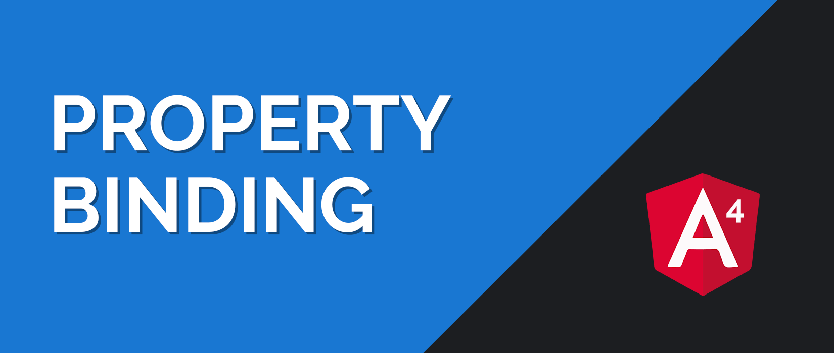 Angular 4 Property Binding Tutorial