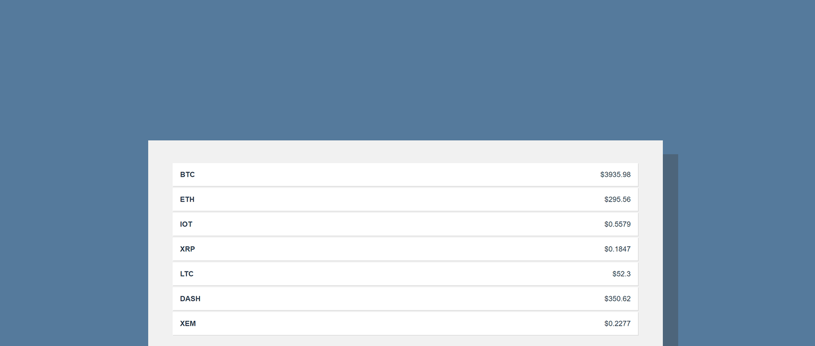 Angular CryptoCurrency Tutorial - Display Exchange Data with an API