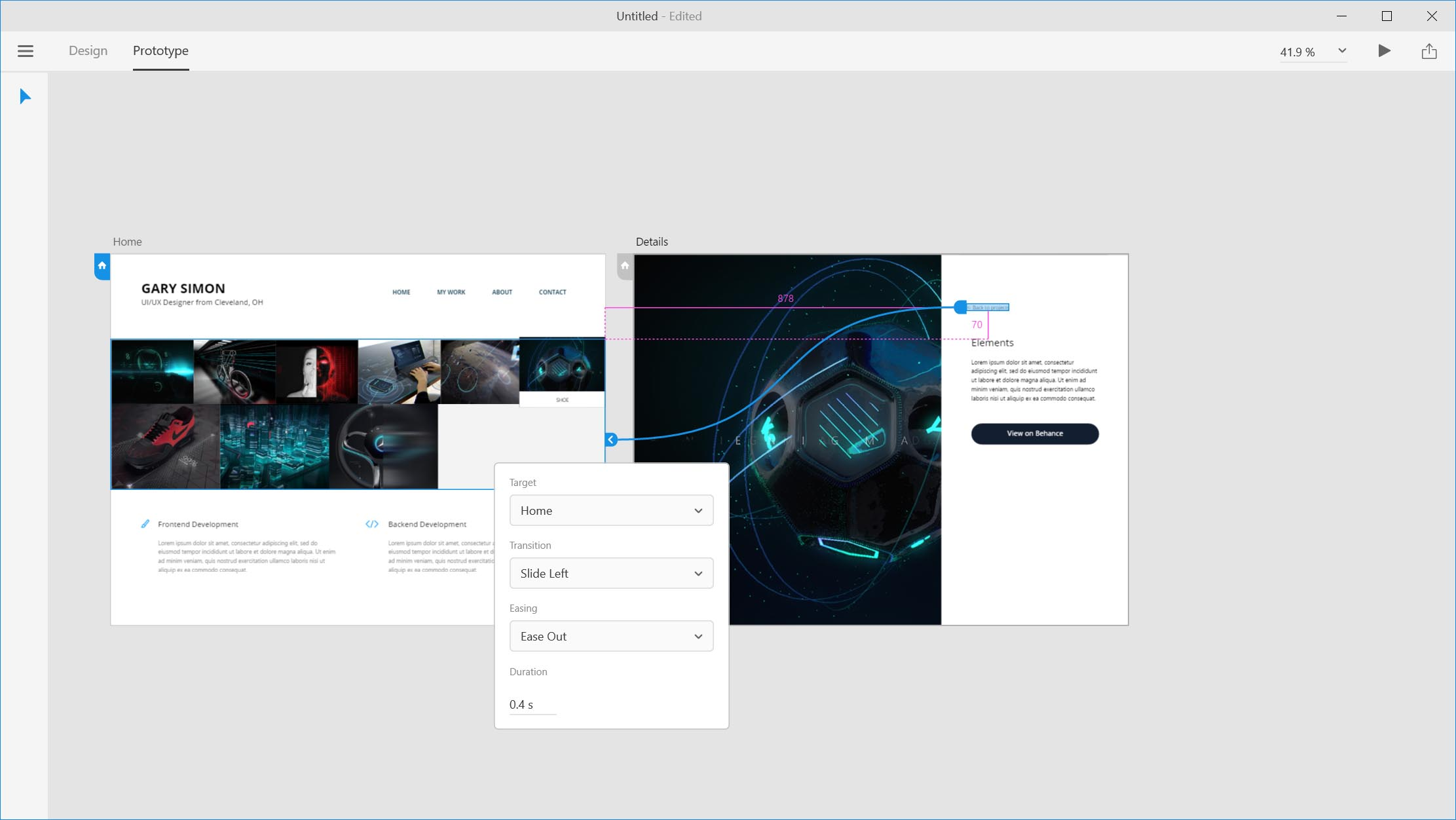 Website Design in Adobe XD Tutorial