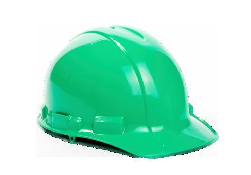 172249329_green Hard hat_silo