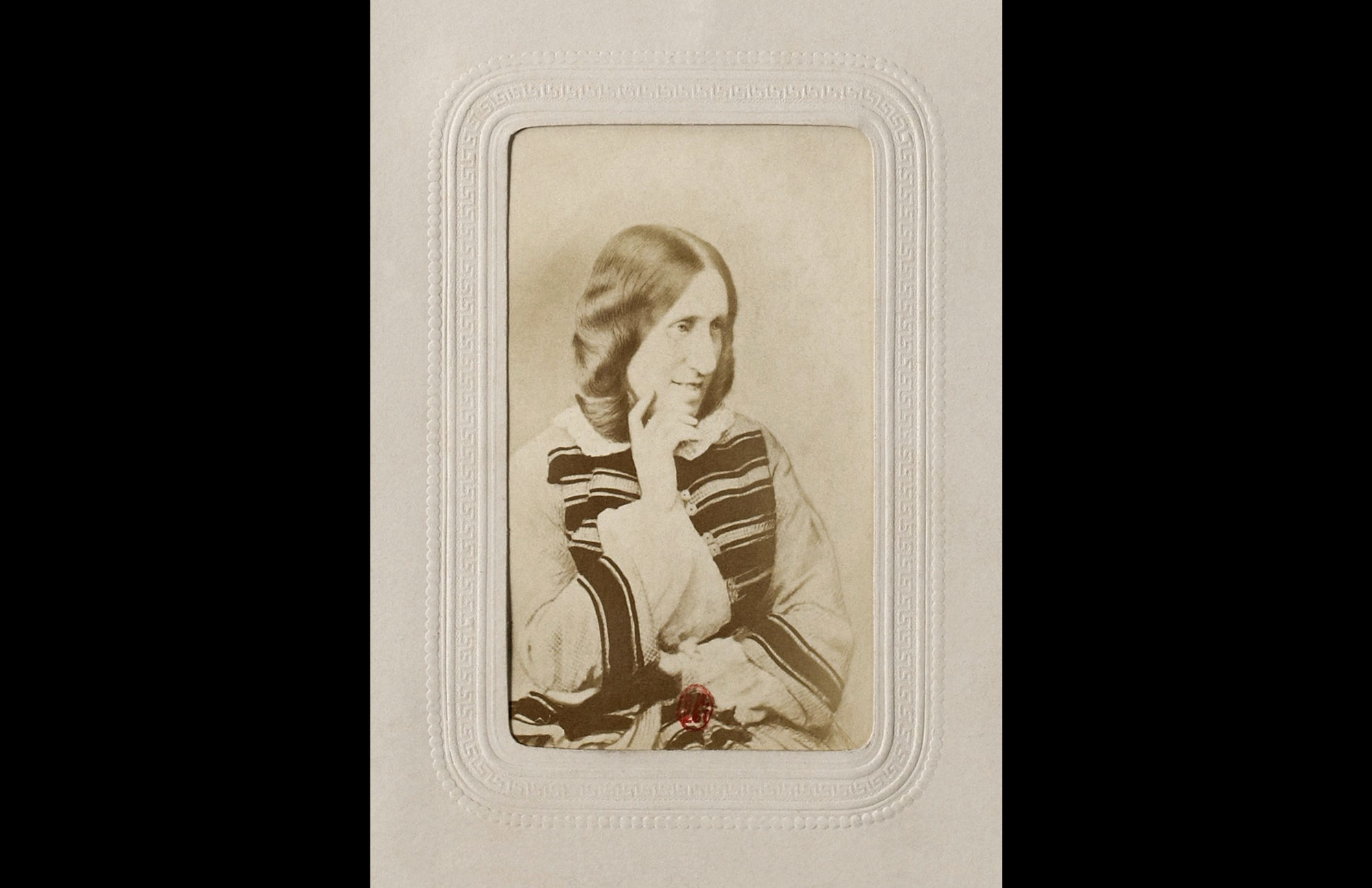 George Eliot Albumen