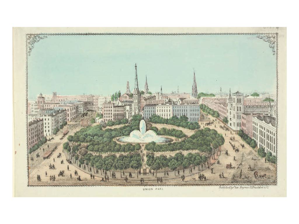 Union Park (Photo courtesy of the New York Public Library Digital Collections)
