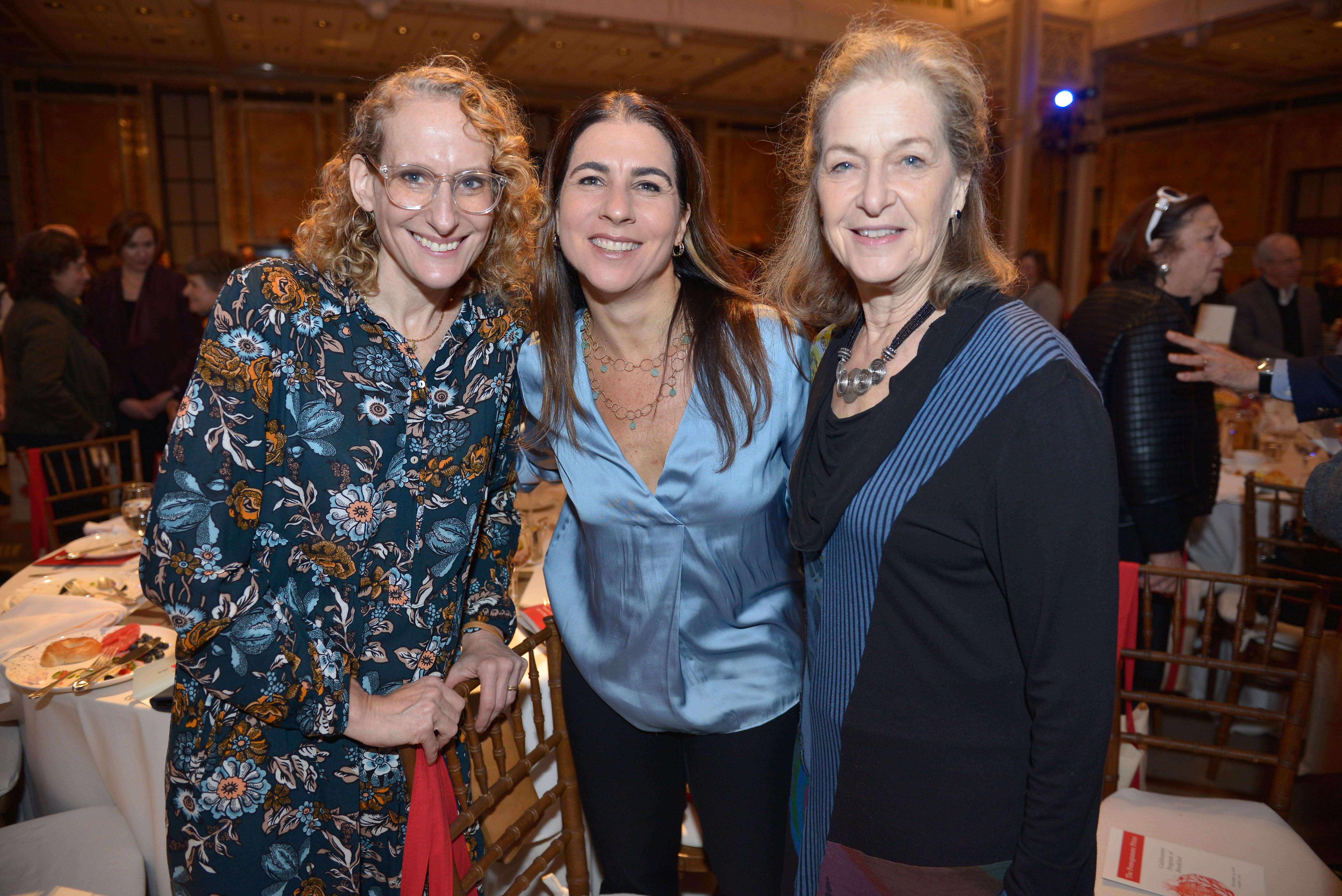 From left: Angie Lieber, 2016 Covenant Award Recipient Ilana Ruskay-Kidd, and Arnee Winshall.