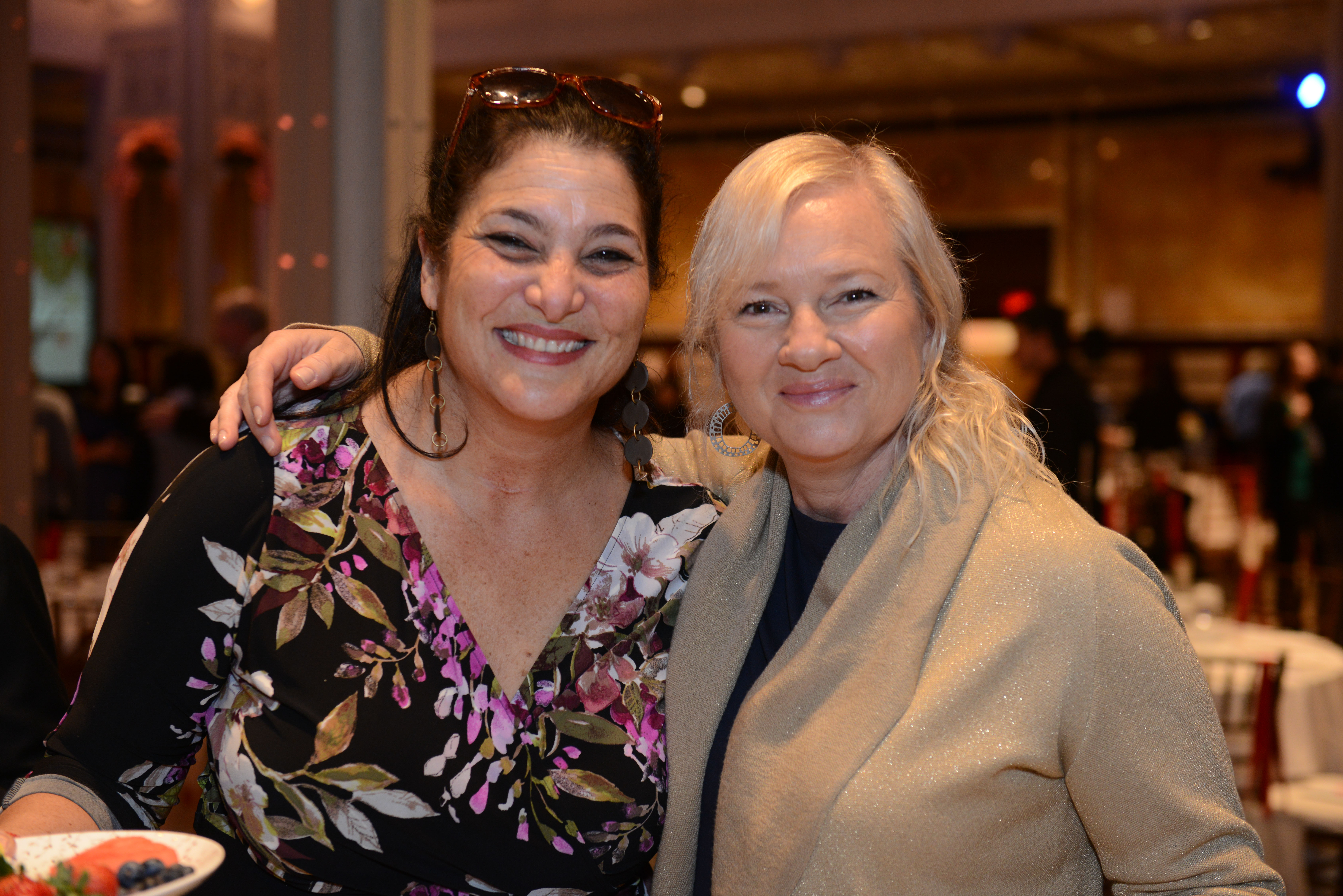 2018 Covenant Award Recipient Naomi Ackerman and 2012 Covenant Award Recipient Karina Zilberman.
