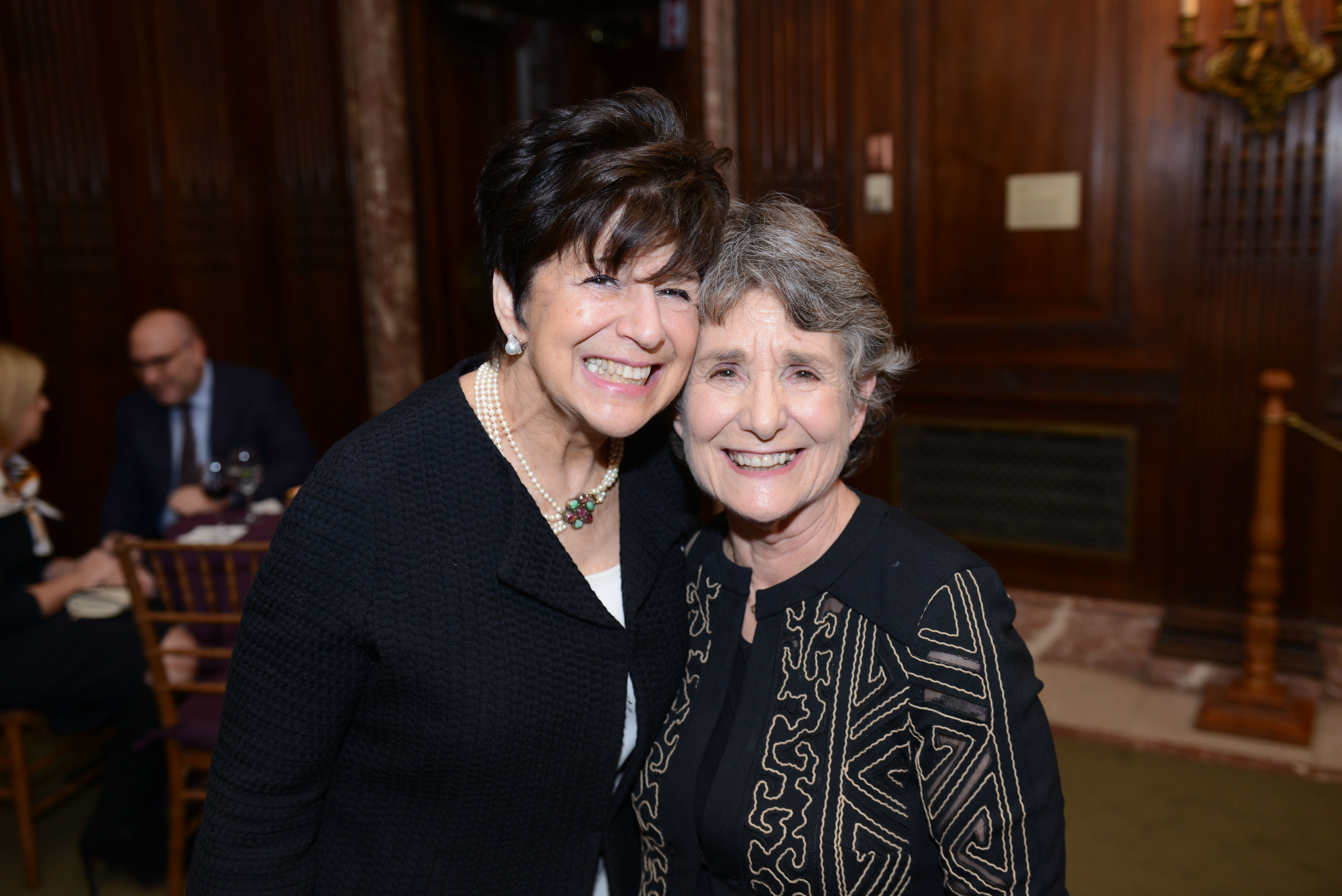 From left: Covenant Executive Director Harlene Appelman and 2004 Covenant Award Recipient Barbara Ellison Rosenblit.