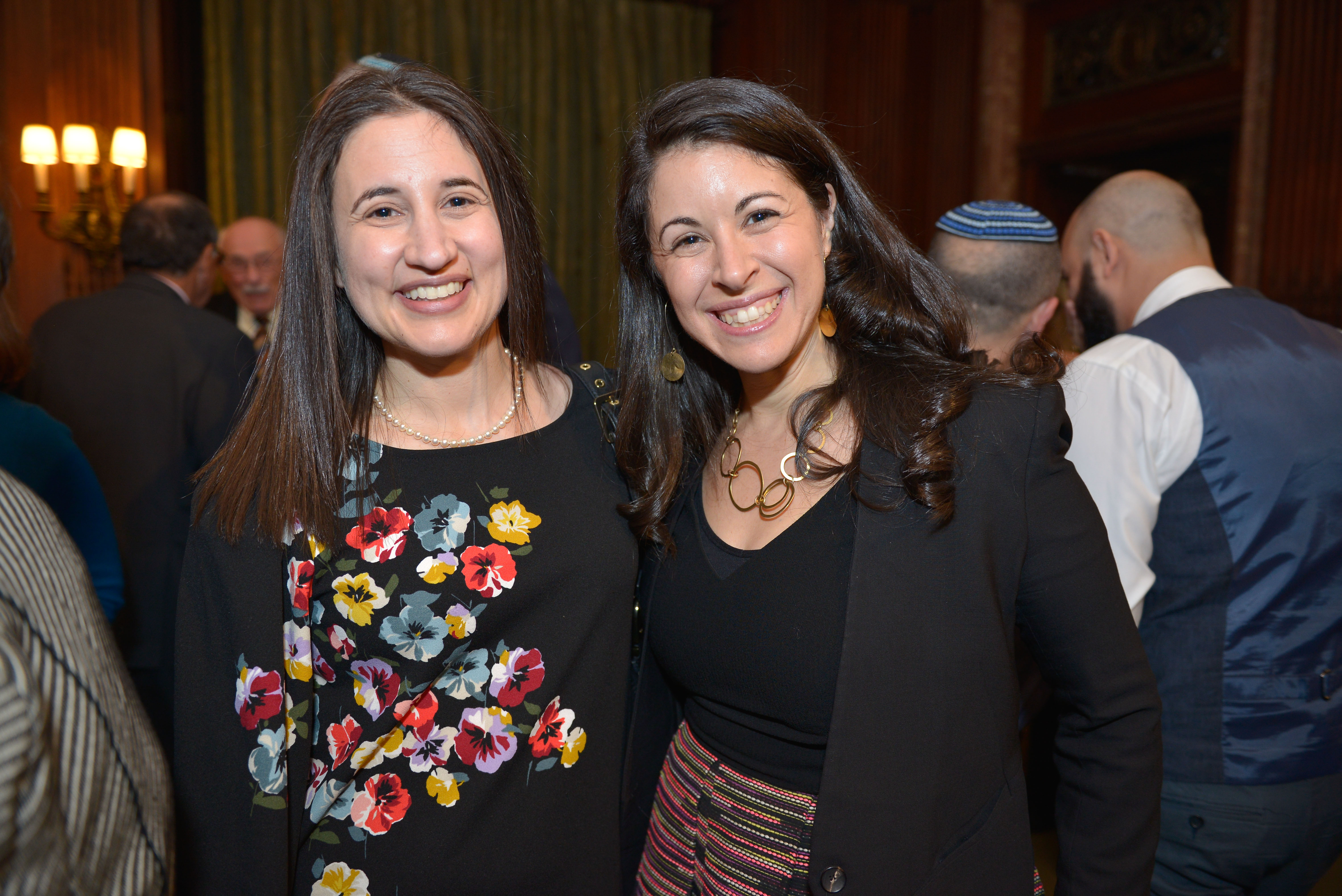 From Left: Crown Family Philanthropies Program Officer Lesley Said Matsa and Covenant Board member Rabbi Shira Koch Epstein.