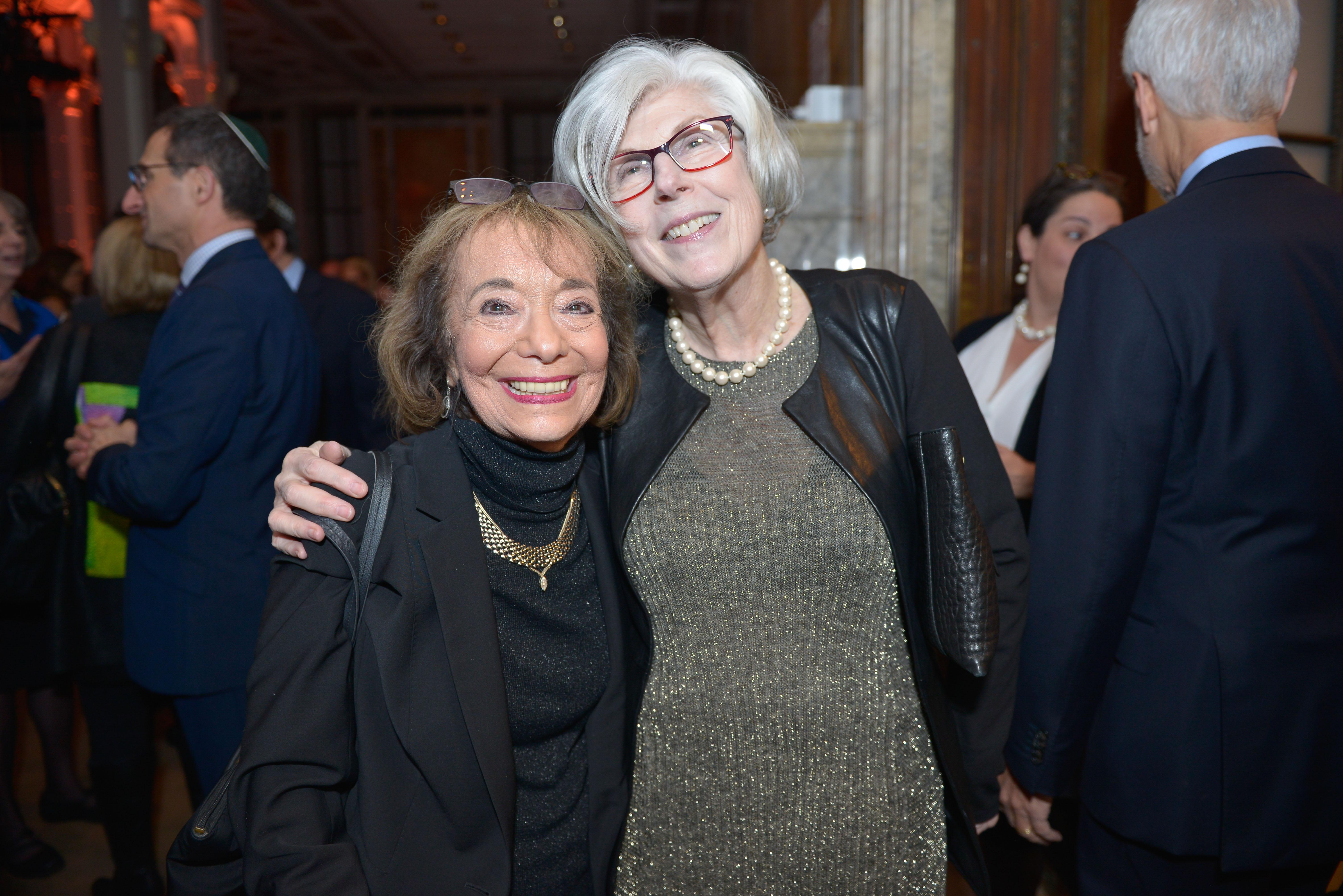 From left: Carolyn Starman Hessel and Carol Oseran Starin.