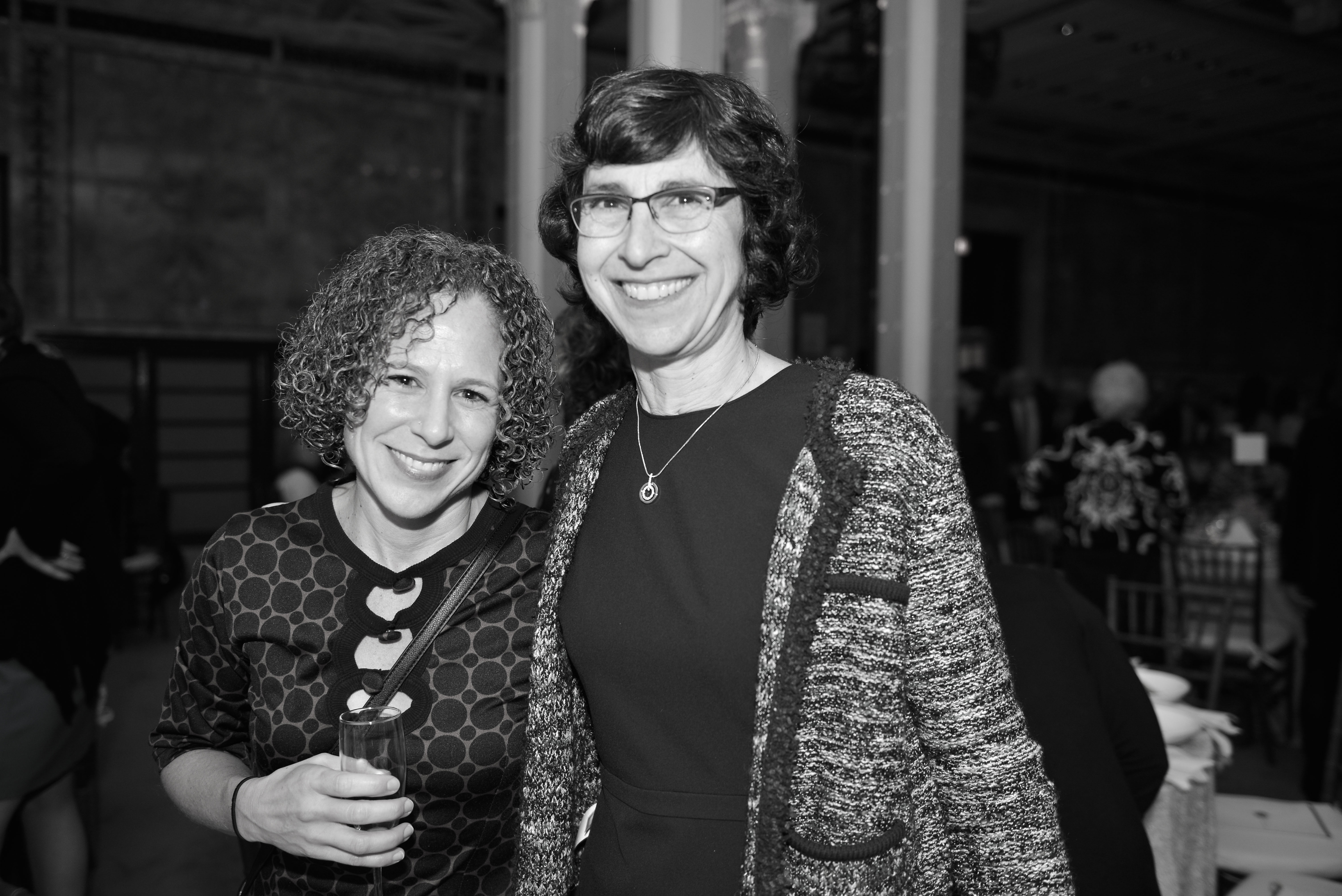 From left: Rebecca Minkus-Lieberman and 2010 Covenant Award Recipient Beth Huppin.